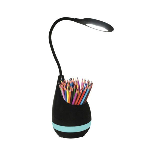Lampe avec pot à crayon