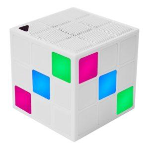 Enceinte lumineuse led cube