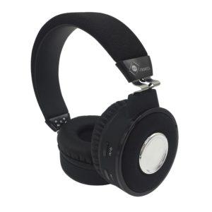 casque audio noir vue de coté