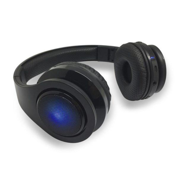 Casque audio avec coté lumineux