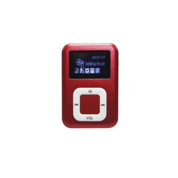 Mini lecteur MP3 vue de face