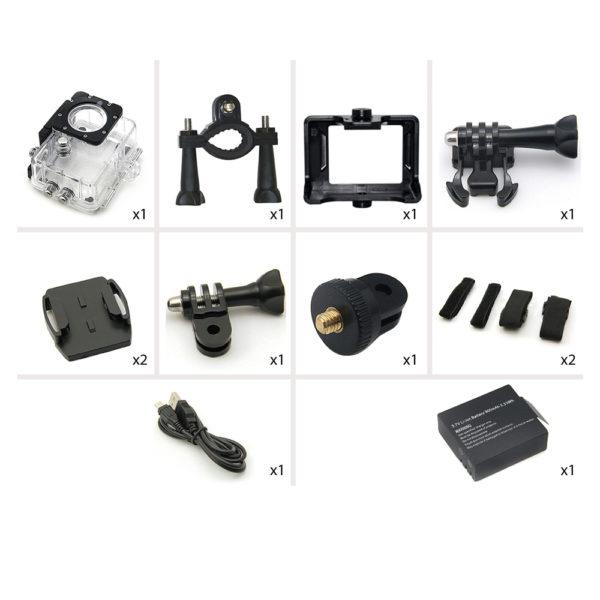 Accessoires pour caméra sport