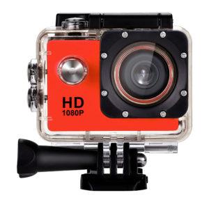 Caméra HD 1080 rouge